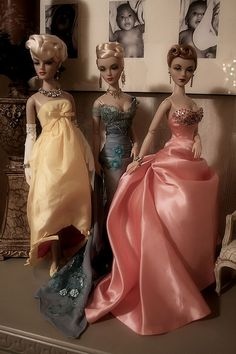 Madra and Gene dolls from my collection by SeloJ Spa, via Flickr