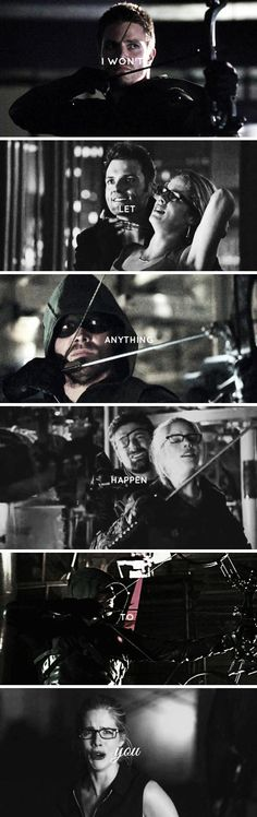 There was no choice to make #Olicity