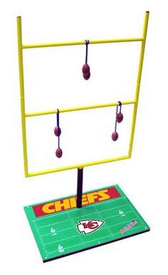 Kansas City Chiefs Ladder Golf Game: Football Toss Set 2.0 - #UltimateTailgate #Fanatics