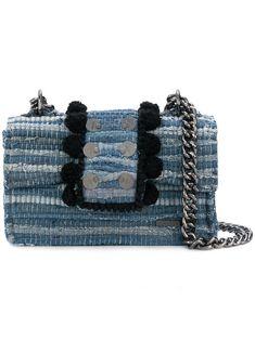 KOORELOO BLUE. #kooreloo #bags #shoulder bags #denim #cotton #
