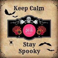 ORDER SPOOKY POSH HERE: https://POSHSPICEEVERYTHINGNICE.po.sh/products