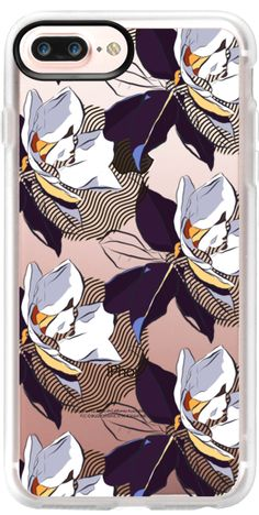 Casetify Protective iPhone 7 Plus Case and iPhone 7 Cases. Other Flower iPhone Covers - Blooming Magnolia by Marina Ultramarine | Casetify