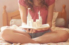 Castle in a book...