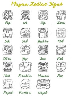 What the Mayan Zodiac Signs Speak about Your Personality – Fractal Enlightenment