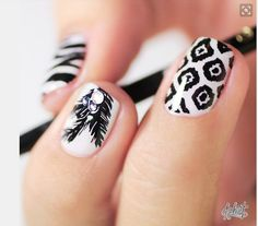 I Need To Get This Done To My Nails!!! (Credit To Whoever Did This!) <3