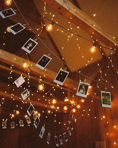 Put those Instax pics to good use: pair them with string lights and decorate with your favorite memories. ✨ #UOHome #UOGifted @fujifilm_instax_northamerica