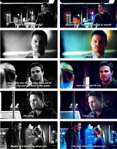 Arrow - Oliver Queen #2.10 #Olicity