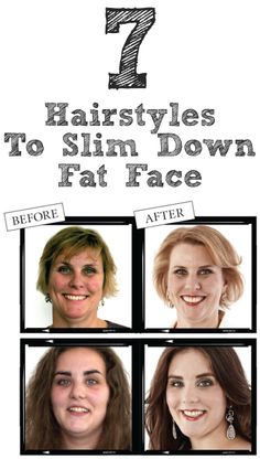 7 Hairstyles To Slim Down Fat Face