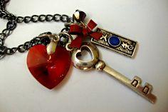 Sailor Mars Henshin Transformation Wand Necklace. $20.00, via Etsy.