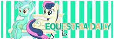 Bon Bon and Lyra EQD Banner. AWW