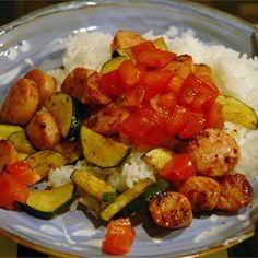 Smoked Sausage and Zucchini Saute - Allrecipes.com