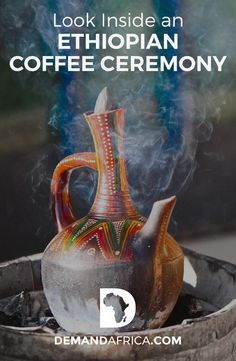 Look Inside an Ethiopian Coffee Ceremony – Demand Africa Ever wonder about Ethiopian Coffee? Take a Look Inside an Ethiopian Coffee Ceremony! Ethiopian Coffee Ceremony, Coffee Aroma, Iced Coffee, Ground Coffee Beans, Horn Of Africa, How To Make Coffee, Great Coffee, East Africa, Brewing