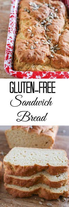 Easy Gluten-Free Sandwich Bread made with millet flour, rice flour, and tapioca flour