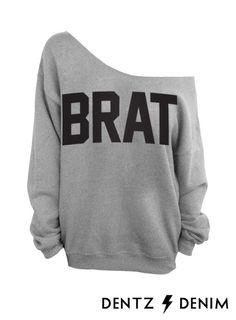 Brat - Slouchy Oversized Sweatshirt from DentzDenim on Etsy