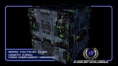 #STARFLEET INTELLIGENCE | #Borg Tactical Cube | #StarTrek