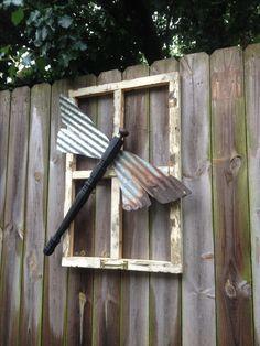 dragon flies yard art - Google Search
