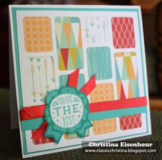 Classic Christina: Cards for May Club using May Special