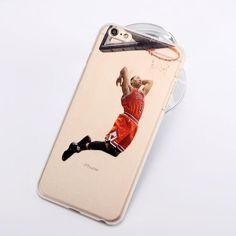 NBA Basketball Phone Case for iphone 5 5se 6 6s 7 plus Cases Jordan