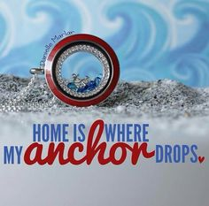 Origami owl!! Let your heart set sail with all our beach and ocean themed charms and inscriptions!!!  www.denisebenight.origamiowl.com