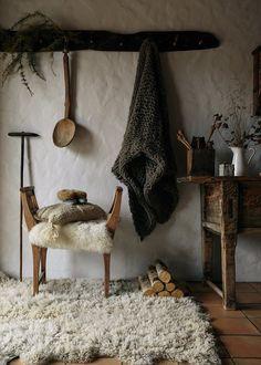 A cosy Romanian home.