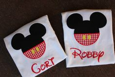 Custom Mickey Mouse Appliqued TShirt or by ALittleLagniappeGift, $22.00