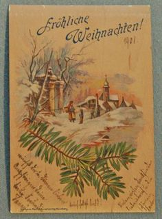 43 best german christmas cards images on pinterest german christmas card german 1901 m4hsunfo