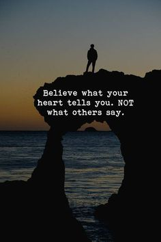 Believe what your heart tells you.. —via http://ift.tt/2eY7hg4