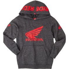 One Industries Youth Honda Ride Red Hoody  $42.77 WaNt soooo bad!!  #RideRed