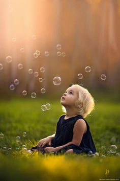 Photographing with bubbles is so much harder than it sounds..