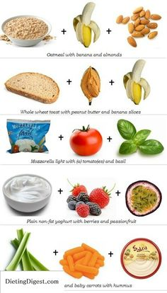 complex carbs combos with lean protein Check out Dieting Digest