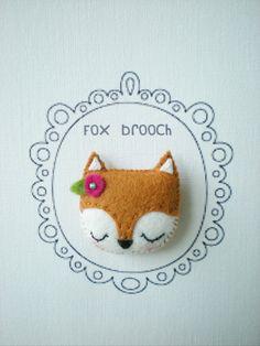 Fox Brooch/Pin