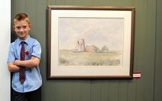 Nine year-old art prodigy Kieron Williamson nets in 10 minutes Artists For Kids, Art For Kids, Child Genius, 10 Interesting Facts, English Artists, My Themes, Arts And Entertainment, Old Art, Painting Inspiration