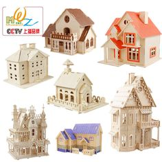 Miễn phí giao hàng, xây dựng 3D câu đố, nhà gỗ class 6 câu đố, đồ chơi cho trẻ em, suy luận HỖ TRỢ giảng dạy, quy mô mô hình, một mảnh