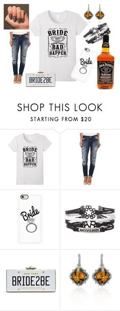 """""""Whiskey Bride To Be"""" by sonya-bernhart on Polyvore featuring Mavi, Casetify and Phillip Gavriel"""