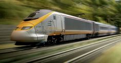 """Go over 180mph on the Eurostar Train from London to Paris (under the English Channel via the """"Chunnel"""")."""