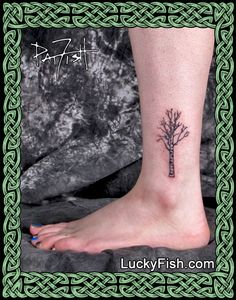 Russian Birch Tree Tattoo by Pat FIsh                                                                                                                                                                                 More