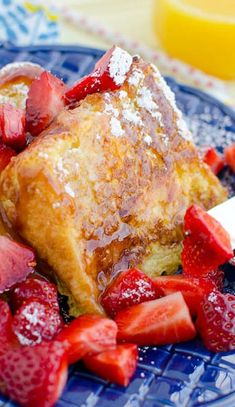 angel food cake french toast // decadent brunch!