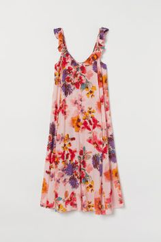 Draped Wrap-front Dress - Dark camel - Ladies | H&M US Bella Dresses, Nice Dresses, Summer Dresses, Fashion Art, Wrap Front Dress, Picnic Dress, Panel Dress, Loose Fitting Tops, Hot Dress