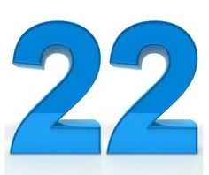 Twenty two and its meaning in the Bible