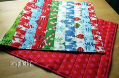 I love table runners, I think they add such a nice finished look to any table-top. I love that they change the look of your table to suit the season too! What I don't like about table runners is that most of the tutorials out there for them require you to bind them. While I...Read More »