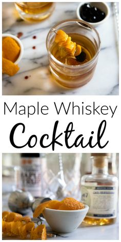 Embrace the cooler months with this maple whiskey cocktail, inspired by the classic Sezarac. Ready In Just 3 Minutes!