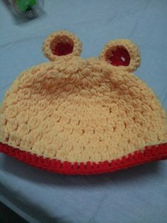 Crochet cap for a year old!