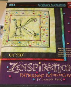 joanna fink art digitzed for machine embroidery