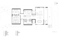 Image 28 of 32 from gallery of Torquay House / Wolveridge Architects. Ground Floor Plan