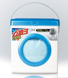 creative ideas design packaging spark washing machine