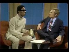 "Cavett's interview of Stevie Wonder.....a song shared here after it was played by Eric Holland at WFUV.  STEVIE played it on the TV show and Eric on his radio show on 5/14/14. In the interview, they discuss a visit to Australia, zodiac signs, how he writes his songs (music, melodies, but not lyrics),  as well as Stevie mentioning his upcoming album tentatively titled ""The Man."" Cavett asked for royalties, Stevie politely declines with a smile."