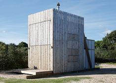 Hut on Sleds by Crosson Clarke Carnachan Architects - Dezeen