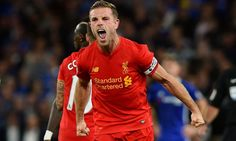 Liverpool claimed a well-deserved 2-1 victory at Chelsea tonight thanks to first-half goals from Dejan Lovren and Jordan Henderson.