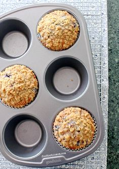Copycat Panera Wild Blueberry Muffins by Foodtastic Mom