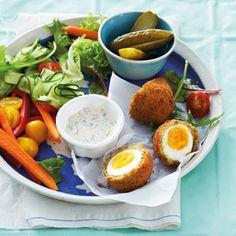 No-fuss meals: Vegetarian scotch eggs